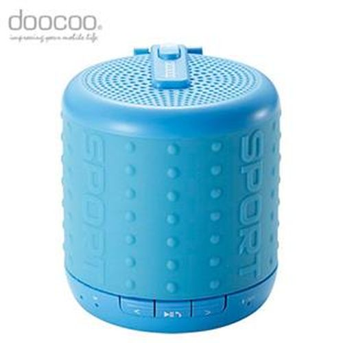 doocoo ibomb 藍牙無線喇叭 運動款 藍