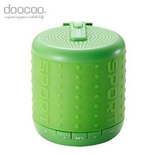 doocoo ibomb 藍牙無線喇叭 運動款式 綠