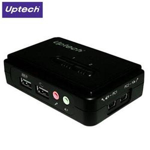 Uptech 登昌恆 KVM210UA 2埠桌上型KVM多電腦切換器