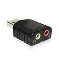 伽利略 USB51A USB 2.1聲道音效卡可模擬7.1聲道DSP硬體音效處理