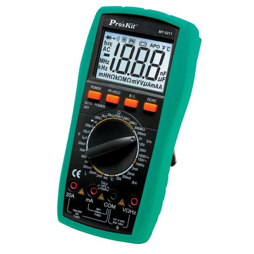 Pro'sKit 寶工 MT-5211 3 1/2 LCR數位電錶