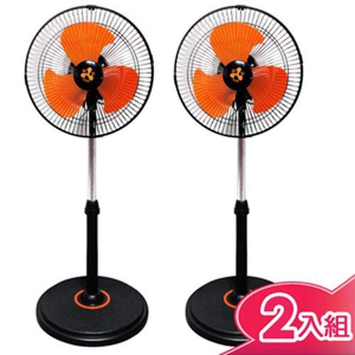 伍田【12吋】超廣角循環涼風扇 (2入組) WT-1211