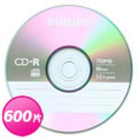 PHILIPS 飛利浦 52X CDR 燒錄片 600片(箱)