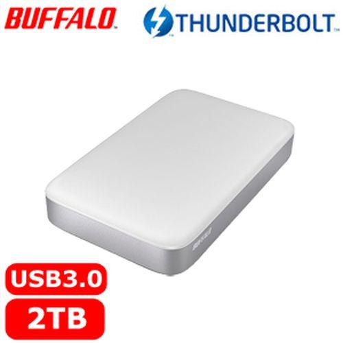 BUFFALO 巴比祿 2.5吋 2TB 雙介面外接硬碟 HD-PA