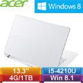 【福利品】ACER Aspire V3-371-59B5 13.3吋筆記型電腦