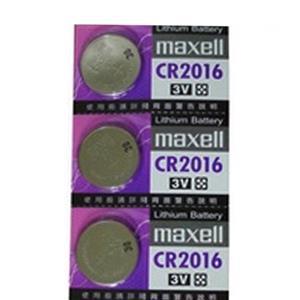 maxell 水銀電池 CR2016 1顆裝