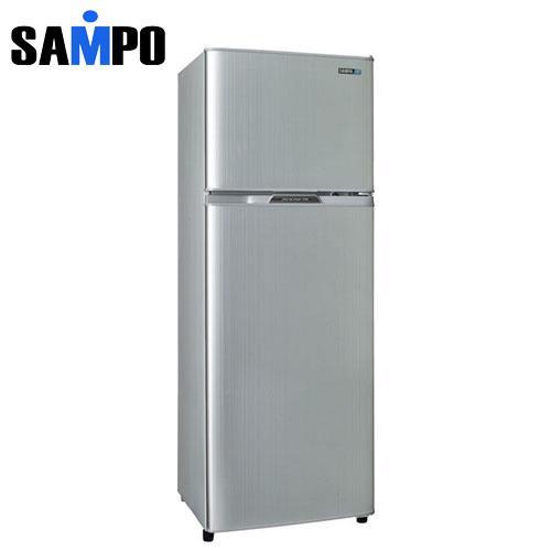 SAMPO 聲寶  節能省電雙門冰箱(250L) SRL25G(S2)璀璨銀