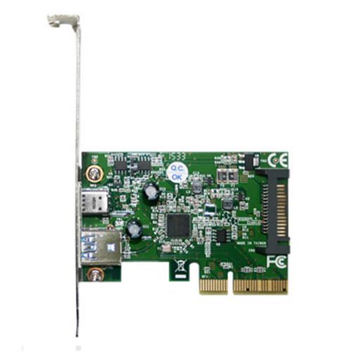 Eclife- PCI-E 4X USB 3.1 1A 1C