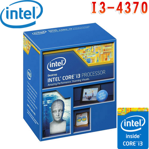 Intel英特爾 Core i3-4370 中央心處理器