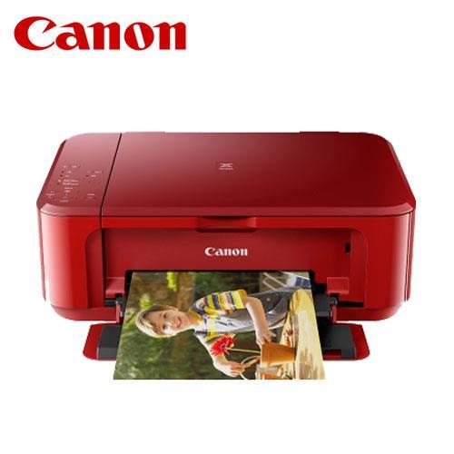 CANON MG3670 無線多 相片複合機 睛豔紅