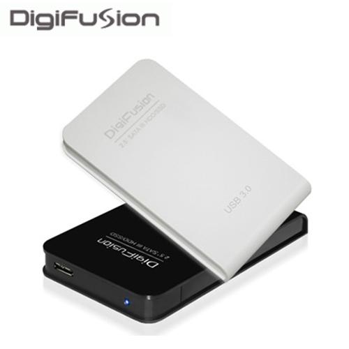 伽利略 USB3.0 2.5吋 SATAIII SSD HDD 硬碟外接盒-白