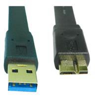 i-wiz  USB3.0 扁型 A公/Micro B公鍍金 1M