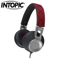 INTOPIC 廣鼎 JAZZ-M360 摺疊音樂耳機麥克風 寶石紅