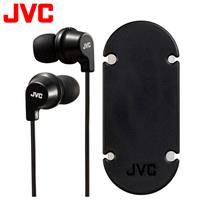 JVC HA-FR21 吸盤式捲線器耳道式耳機麥克風 黑