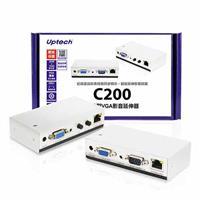 Uptech C200 網線型VGA影音延伸器