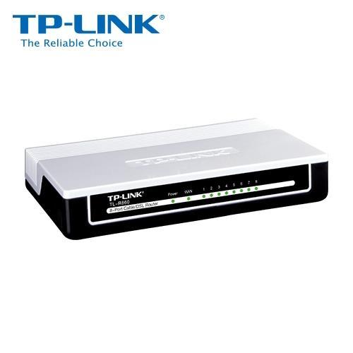 TP-LINK 8P 智慧型頻寬管理分享器【TL-R860】