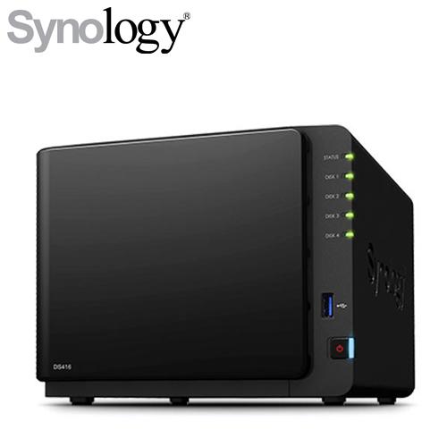 Synology DS416 網路儲存伺服器