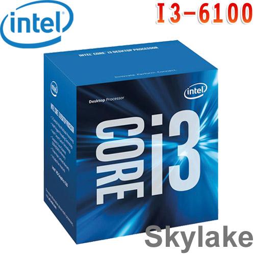 Intel英特爾 Core i3-6100 中央處理器