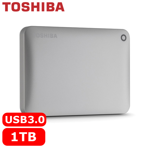 TOSHIBA CanvioConnectII V8 2.5吋 1TB行動硬碟金