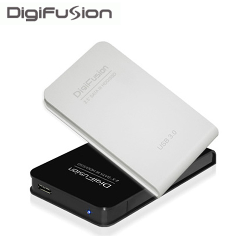 伽利略 USB3.0 2.5吋 SATAIII SSD/HDD 硬碟外接盒-黑色