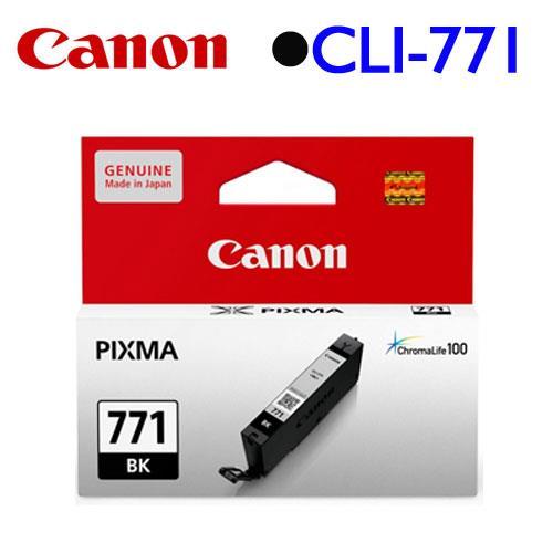 Canon CLI~771BK 墨水匣 ^(相片黑^)