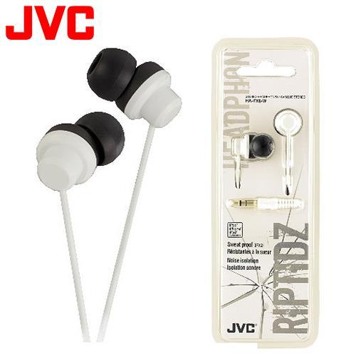 JVC HA-FX8 休閒多色彩入耳式耳機 白