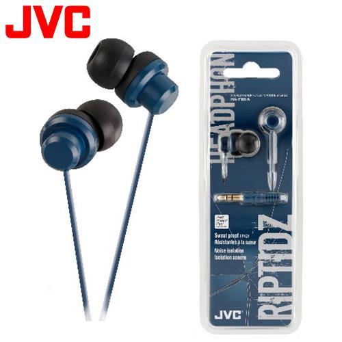 JVC HA-FX8 休閒多色彩入耳式耳機 藍
