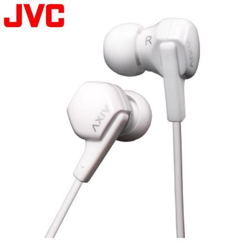 JVC HA-FX17 耳掛入耳式兩用耳機 白