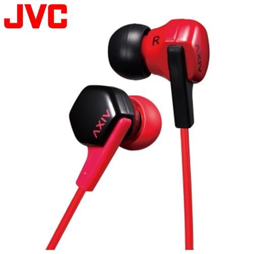 JVC HA-FX17 耳掛入耳式兩用耳機 紅黑