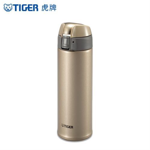 虎牌 不鏽鋼彈蓋式保溫保冷杯金 MMQ-S050-NH(500ml