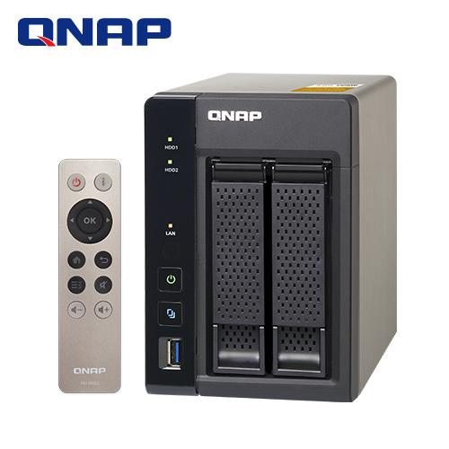 QNAP威聯通 TS-253A-4G 2Bay網路儲存伺服器