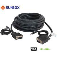 SUNBOX VGA+Audio線10米