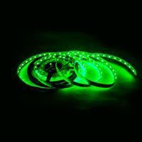 5050 300燈白底扁條燈 5M(綠)*裸式不防水