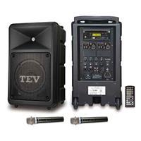 TEV DVD/CD/USB/SD雙頻無線擴音機 TA680D-2
