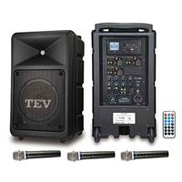 TEV USB/SD三頻無線擴音機 TA680U-3