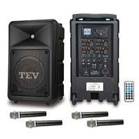 TEV USB/SD四頻無線擴音機 TA680U-4