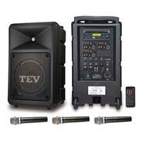 TEV CD/USB/SD三頻無線擴音機 TA680C-3