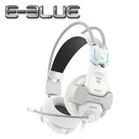 E-Blue 宜博 EHS902 眼鏡蛇 電競耳罩式耳機麥克風 白