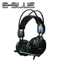 E-Blue 宜博 EHS902 眼鏡蛇 電競耳罩式耳機麥克風 黑