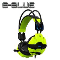 E-Blue 宜博 EHS902 眼鏡蛇 電競耳罩式耳機麥克風 綠