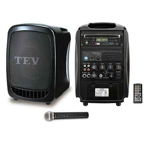 TEV DVD/CD/USB/SD單頻無線擴音機 TA330D-1