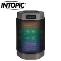 INTOPIC 廣鼎 BT160 多功能炫彩LED藍牙喇叭 灰