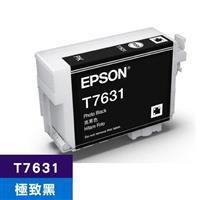 EPSON 原廠墨水匣 T763100 極致黑 (SC-P607適用)