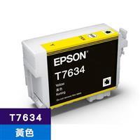 EPSON 原廠墨水匣 T763400 黃色 (SC-P607適用)
