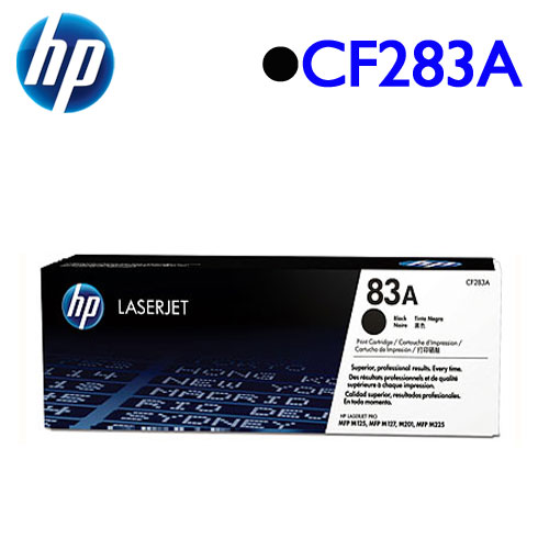 HP CF283A 原廠碳粉匣 (黑)