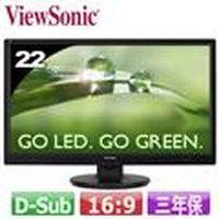 R1【福利品】ViewSonic 優派 VA2246A-LED 22型 LED