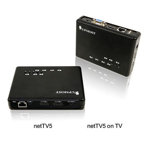 UPMOST登昌恆 netTV5+netTV5 on TV HD網路電視盒組合包