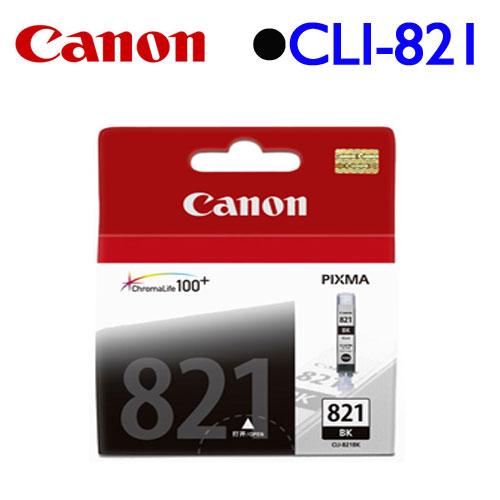 Canon CLI-821BK 原廠墨水匣 (淡黑)