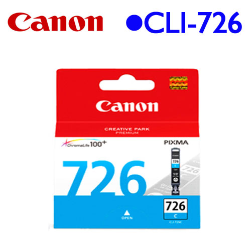Canon CLI-726C 原廠墨水匣 (藍)