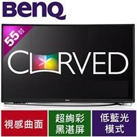 BenQ明碁 55型 曲面LED顯示器 55RU6600